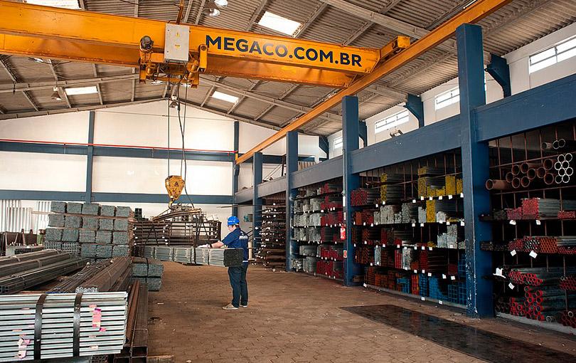 ferro e aço de qualidade é na megaço