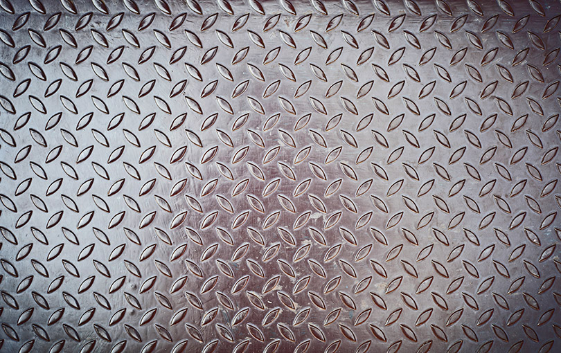 chapa piso de aluminio na megaco
